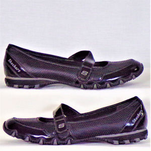 Skechers size 7 black Mary Jane flats
